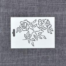"Трафарет ""Две розы"""