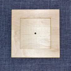 Квадратная основа для часов