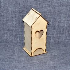 Чайный домик с сердечком
