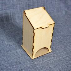 Малый чайный домик без оформления