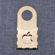 """Подвес для зарядки телефона с логотипом """"Apple"""""""