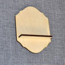 Ключница в виде полочки